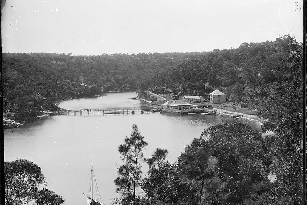 Mosman Bay Sydney 1880